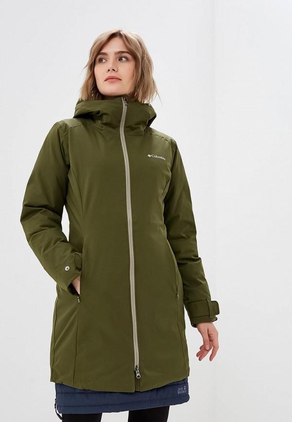 Купить Куртка утепленная Columbia, Autumn Rise™ Mid Jacket, co214ewcpqc6, хаки, Осень-зима 2018/2019