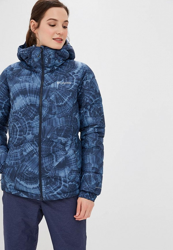 Купить Куртка утепленная Columbia, Pike Lake™ Hooded Jacket, co214ewcpqc8, синий, Осень-зима 2018/2019