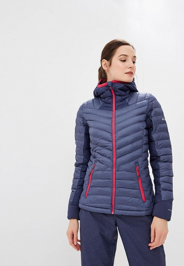 Куртка утепленная Columbia, Windgates™ Hooded Jacket, co214ewcpqd9, синий, Осень-зима 2018/2019  - купить со скидкой