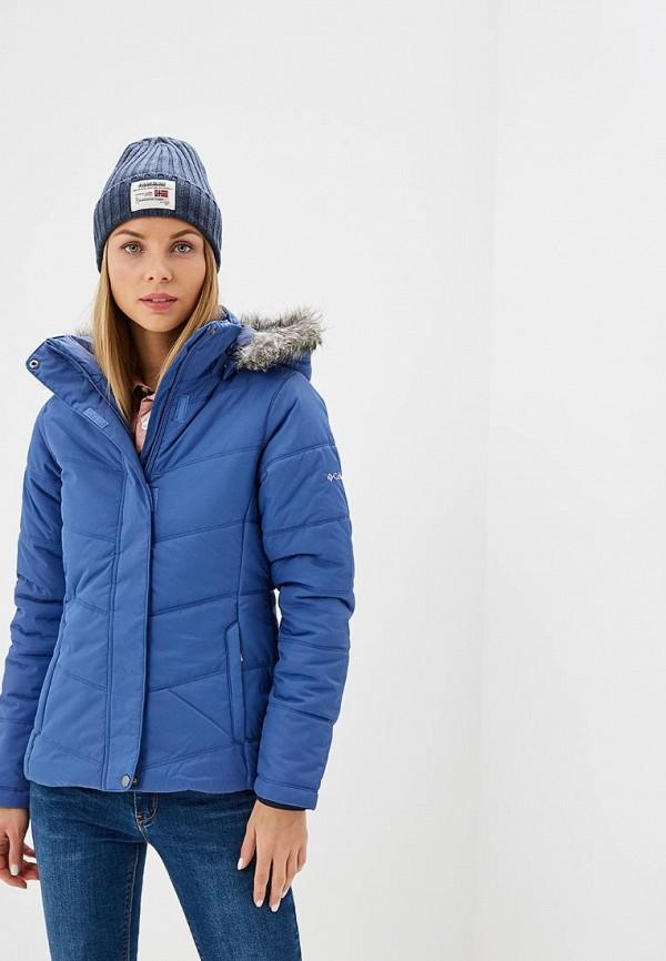 Купить Куртка утепленная Columbia, Deerpoint™ Jacket, co214ewcpqe2, синий, Осень-зима 2018/2019
