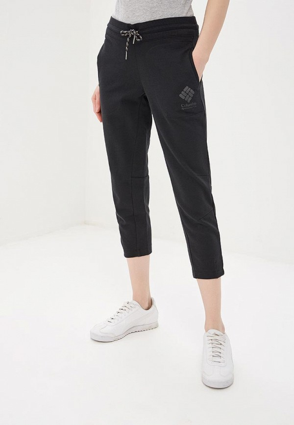 женские спортивные брюки columbia, черные