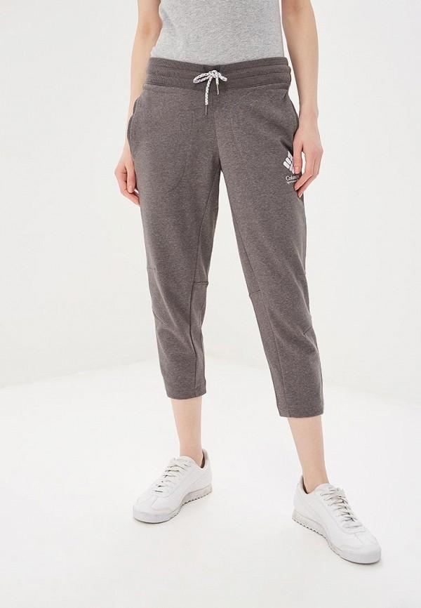 женские спортивные спортивные брюки columbia, серые