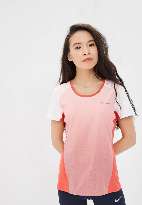 женская спортивные футболка columbia