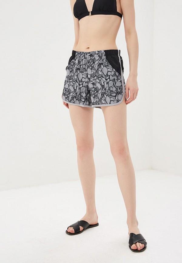 женские спортивные спортивные шорты columbia, серые
