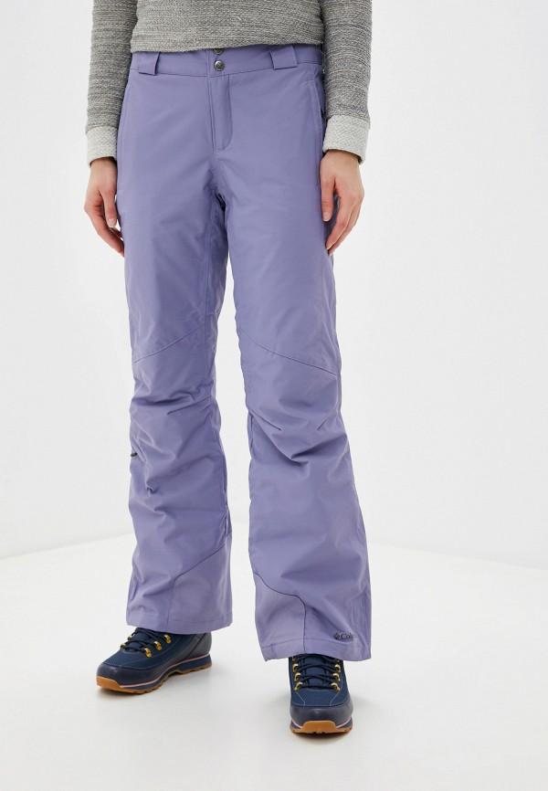 женские брюки columbia, фиолетовые