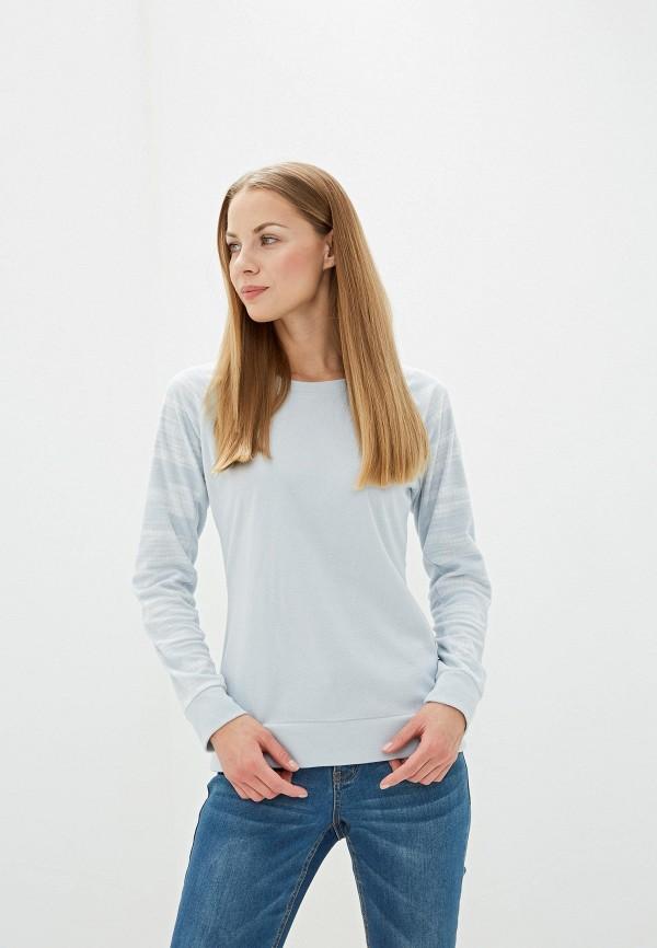 женский свитшот columbia, серый