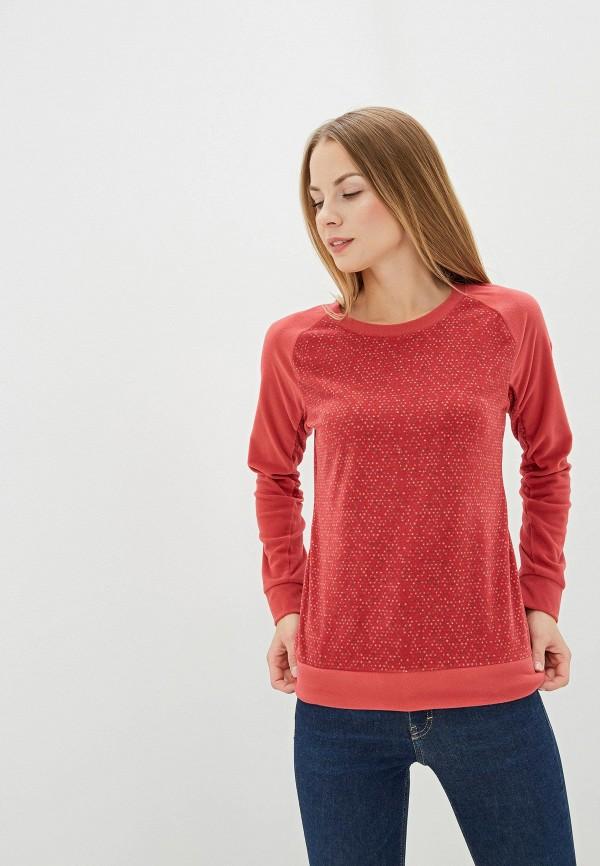 женский свитшот columbia, красный