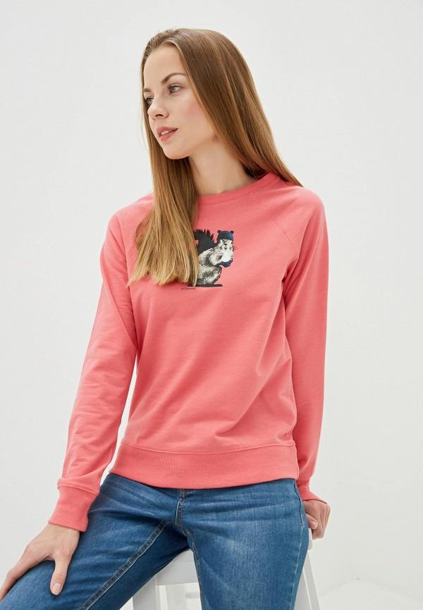 женский свитшот columbia, розовый