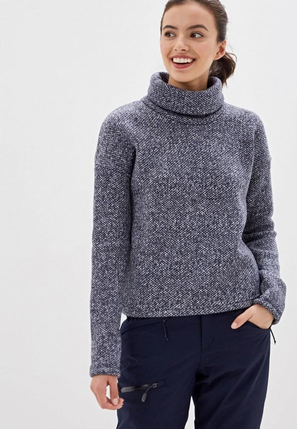 женский свитер columbia, синий