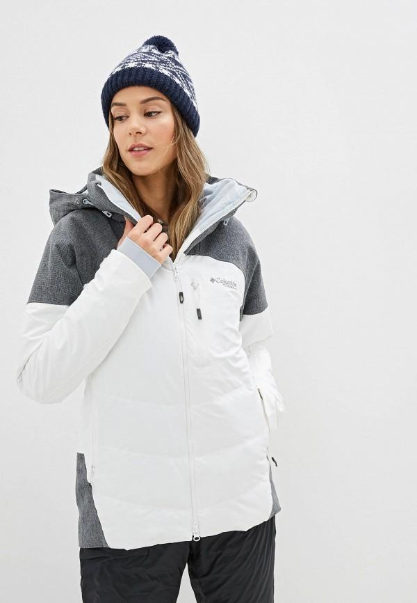 женская куртка columbia, белая