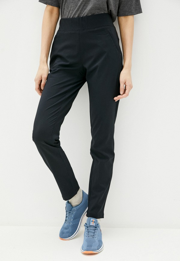 женские брюки columbia, черные