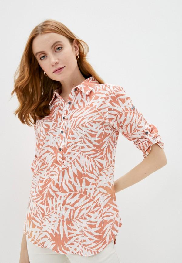 женская рубашка с коротким рукавом columbia, разноцветная