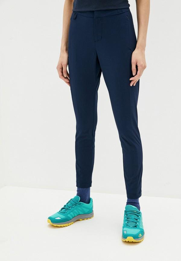 женские спортивные брюки columbia, синие
