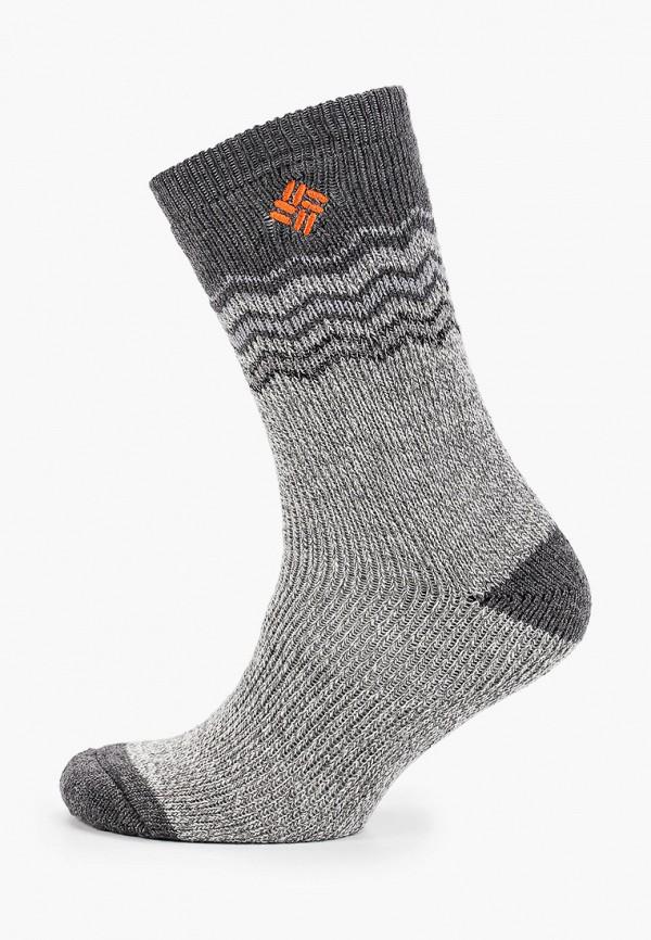 женские носки columbia, серые