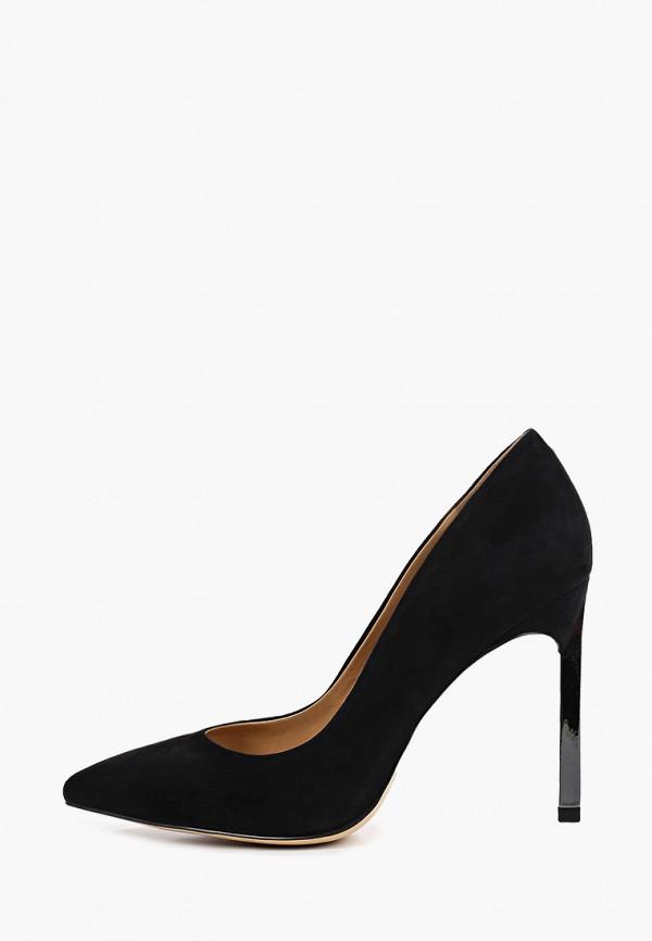 женские туфли-лодочки corso como, черные