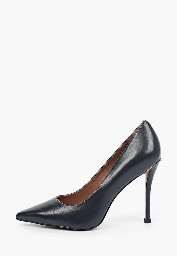 женские туфли-лодочки corso como, синие