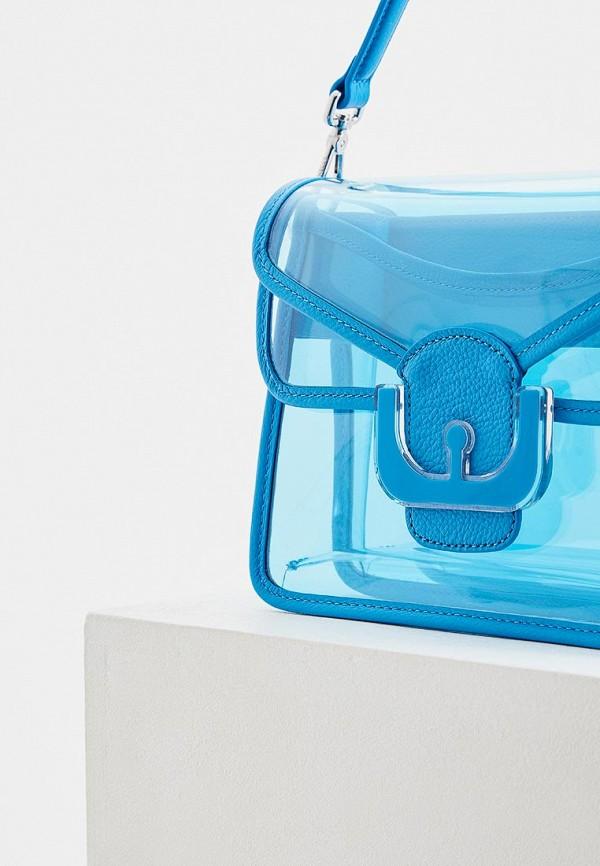 Фото 3 - женскую сумку Coccinelle голубого цвета