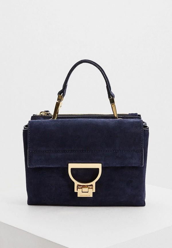 женская сумка coccinelle, синяя