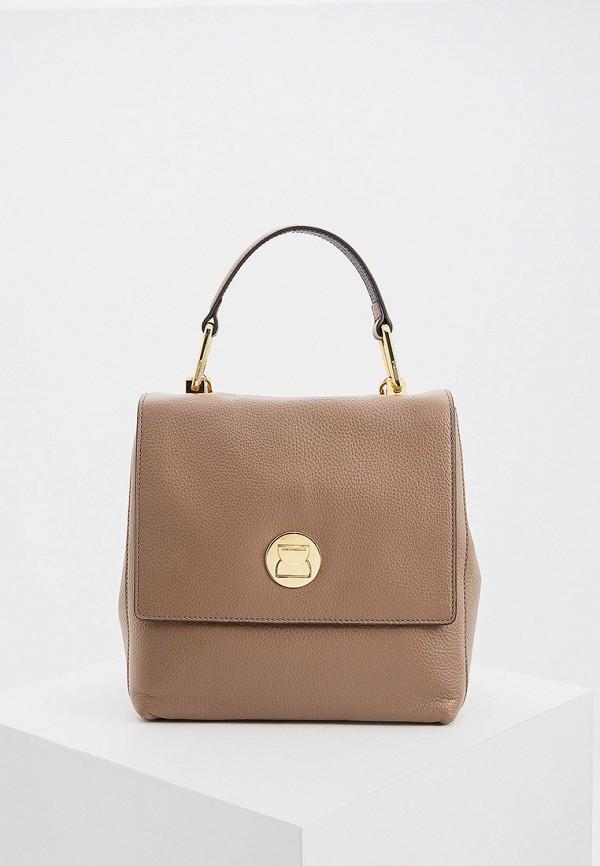 женский рюкзак coccinelle, хаки