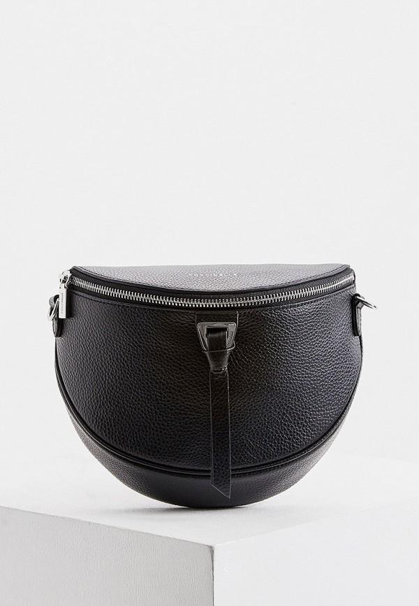 женская поясные сумка coccinelle, черная
