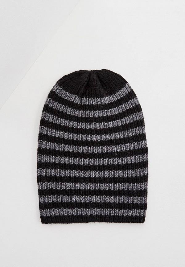 женская шапка coccinelle, черная
