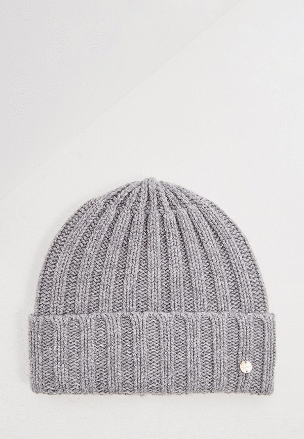 женская шапка coccinelle, серая