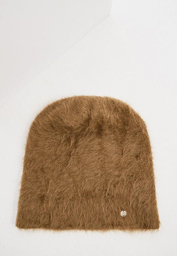 женская шапка coccinelle, хаки