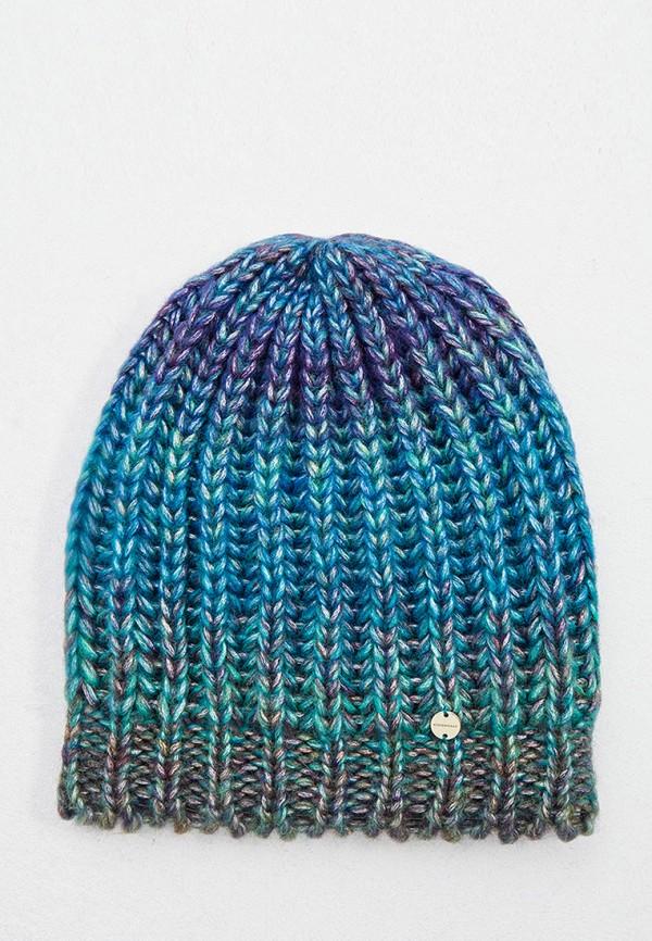 женская шапка coccinelle, разноцветная