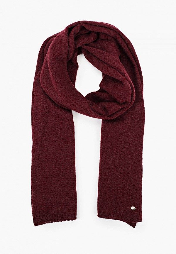 женский шарф coccinelle, бордовый