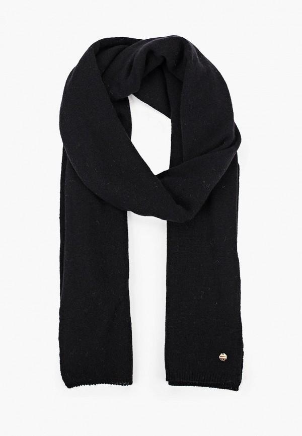 женский шарф coccinelle, черный
