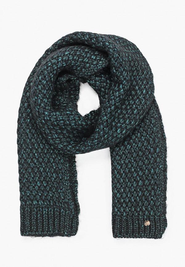 женский шарф coccinelle, зеленый
