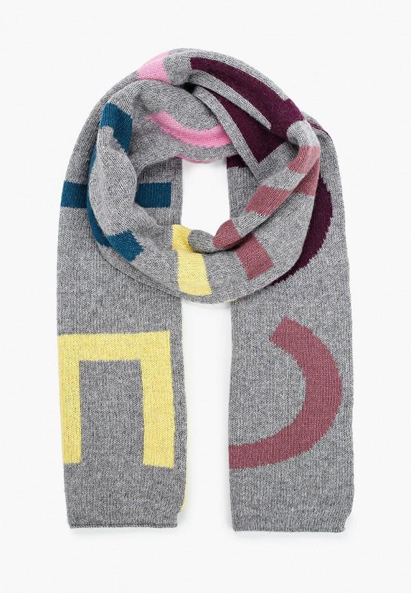 женский шарф coccinelle, разноцветный