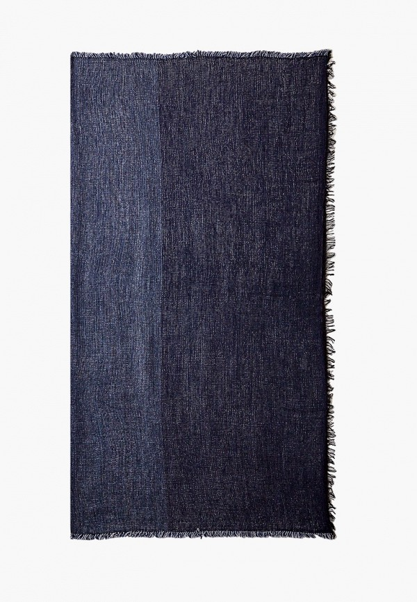 женский палантин coccinelle, синий