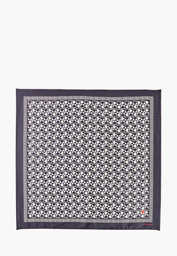 женский платок coccinelle, черный
