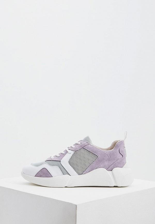 женские кроссовки colors of california, фиолетовые