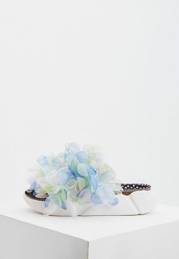 женское сабо colors of california, белое