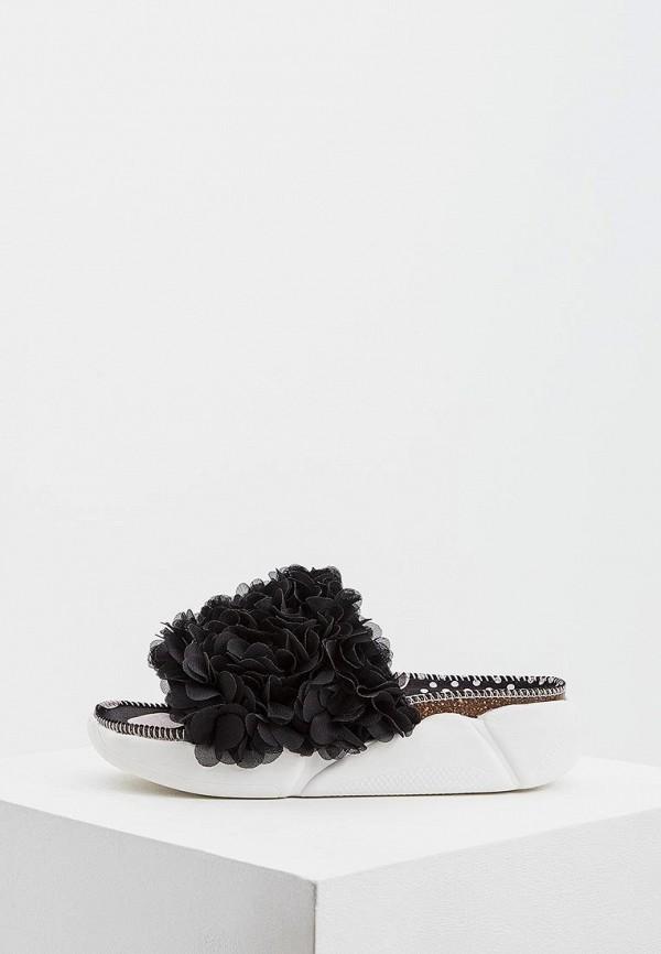 женское сабо colors of california, черное