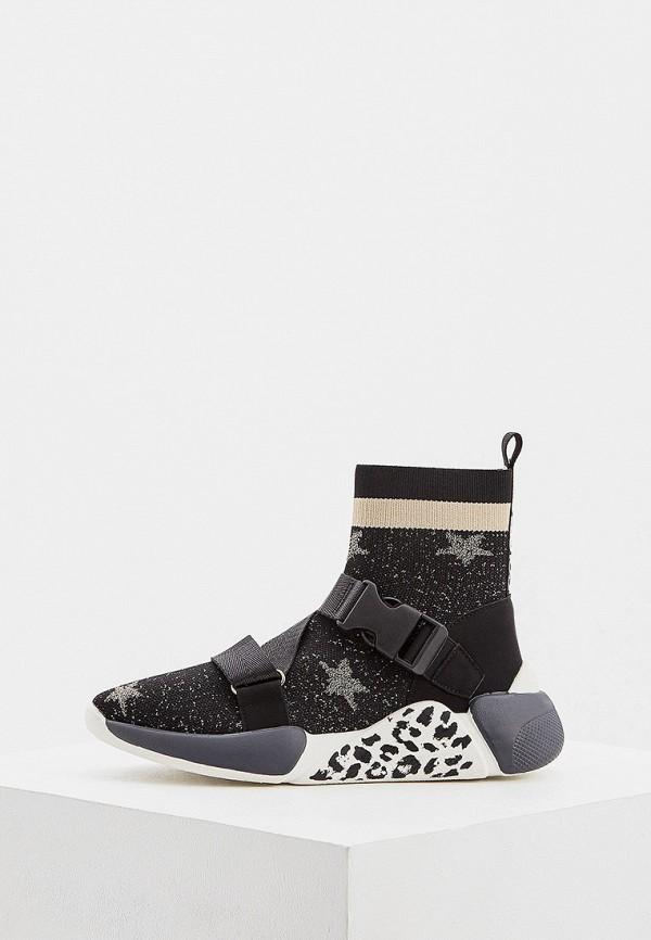 женские кроссовки colors of california, черные