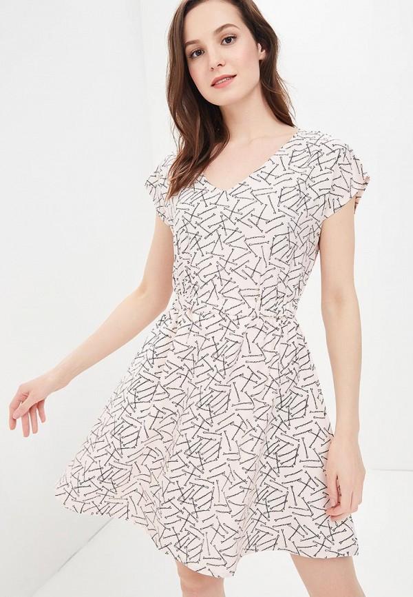 женское повседневные платье compania fantastica, розовое