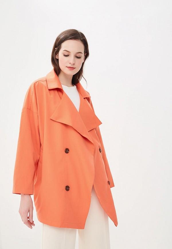 женский плащ compania fantastica, оранжевый