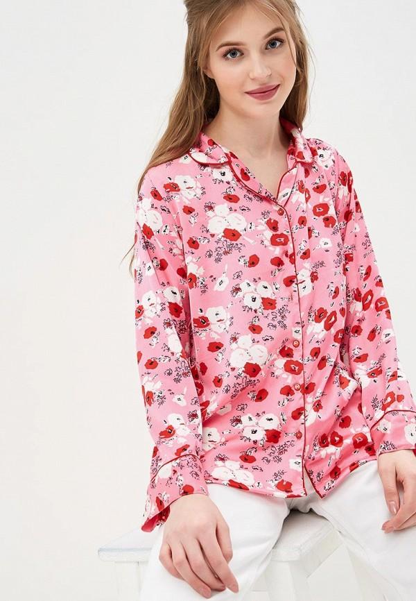 женская блузка compania fantastica, розовая