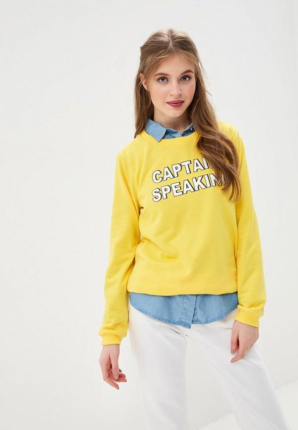 Купить Свитшот Compania Fantastica, co713eweoxz0, желтый, Весна-лето 2019