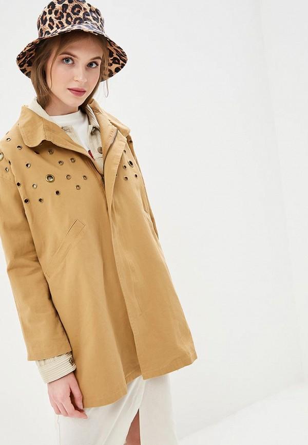 женская куртка compania fantastica, бежевая