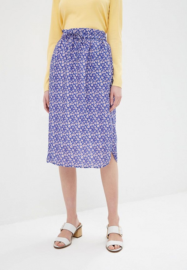 женская юбка compania fantastica, синяя