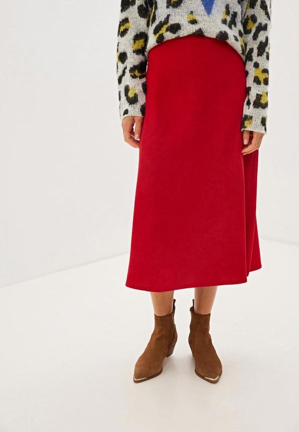 женская юбка compania fantastica, красная