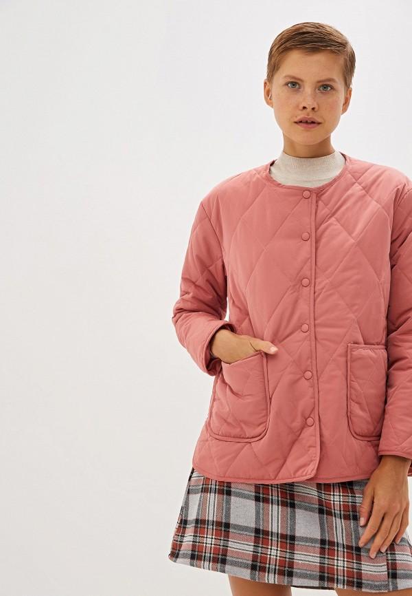 женская куртка compania fantastica, розовая