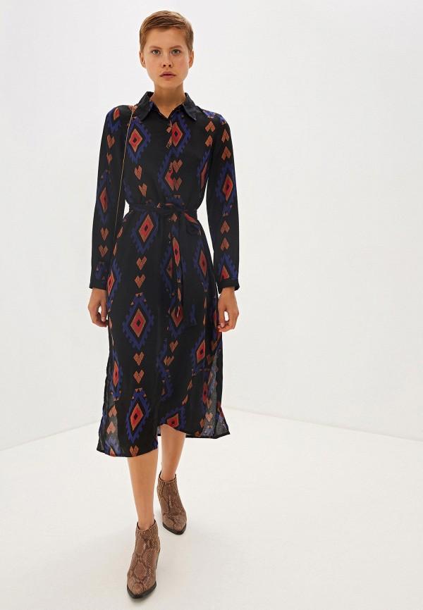 женское платье compania fantastica, черное