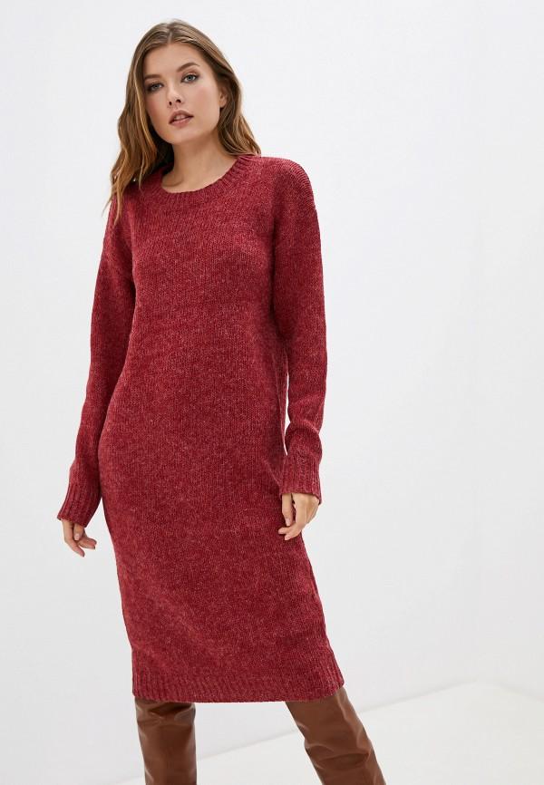 женское платье compania fantastica, красное