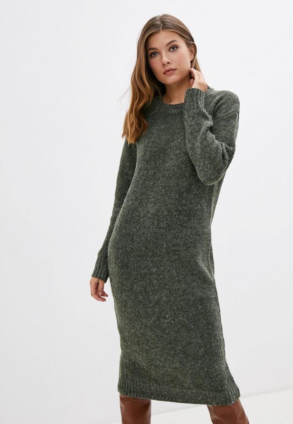 женское платье compania fantastica, зеленое