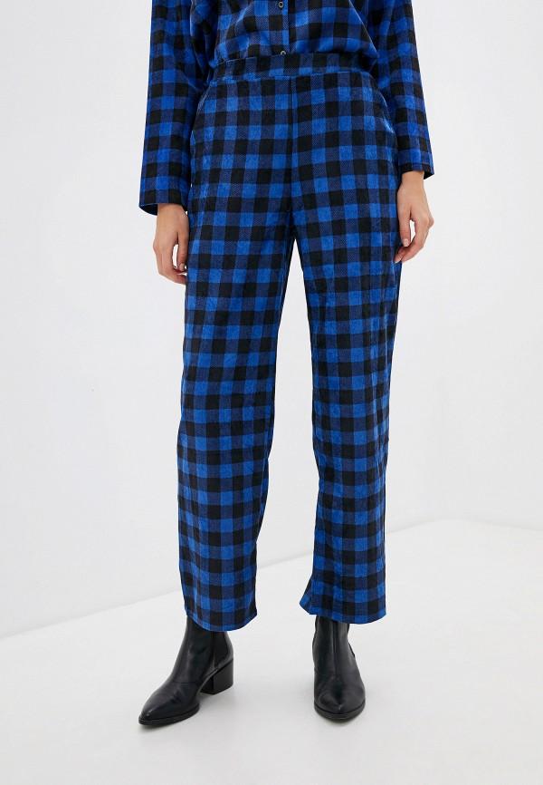 женские повседневные брюки compania fantastica, синие